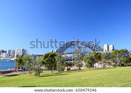 Barangaroo Reserve, Sydney Royalty-Free Stock Photo #650479246