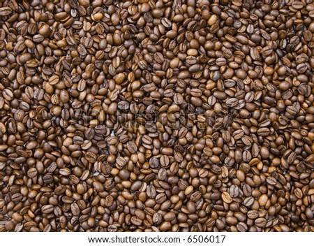 coffee beans make pattern,macro #6506017