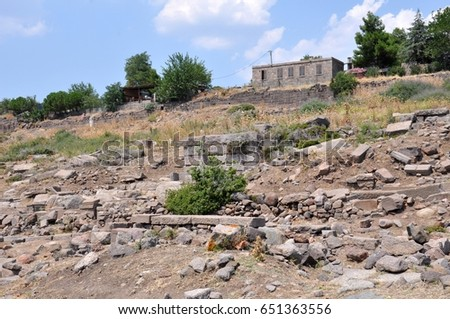 Ancient Assos in Turkey #651363556