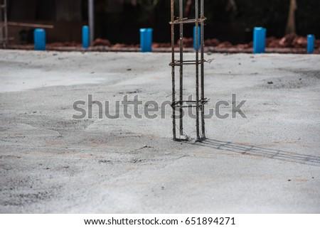Concrete flooring, new construction  #651894271