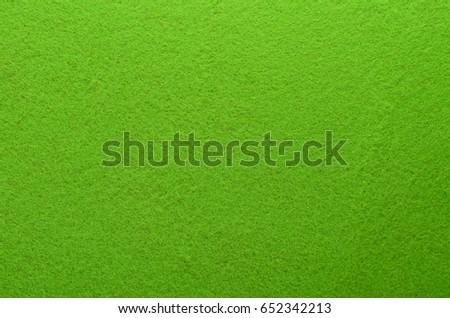 Green Felt Texture Background. Fiber texture of felt close-up #652342213