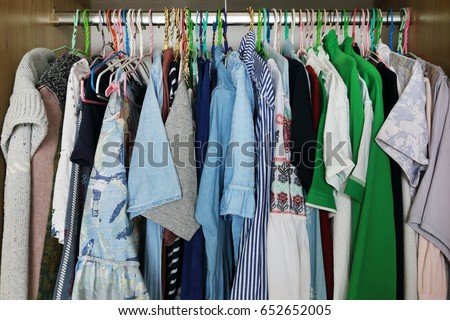 it is clothes hang in closet. #652652005
