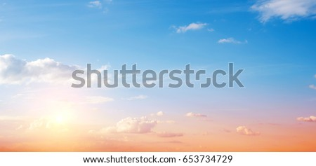 Clear sky and clouds background #653734729