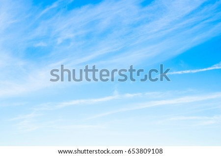 blue sky background with white clouds #653809108
