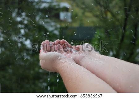 rain drops #653836567