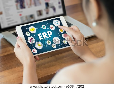 ERP navigation Business, Technology, Internet and network #653847202