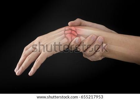 wrist bones injury #655217953