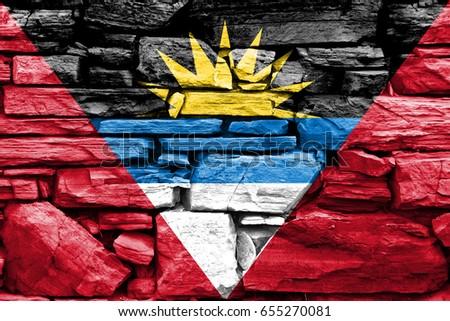Flag of Antigua and Barbuda #655270081