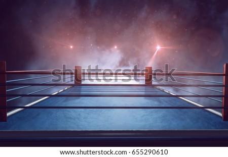 Boxing ring #655290610