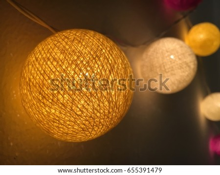 Light of lamp #655391479