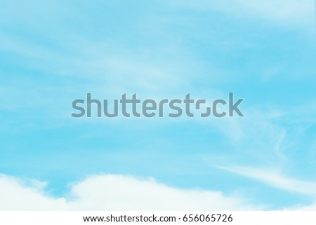 The sky is a small cloud floating in the sky. #656065726