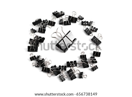 Clip for document or paper clip attachment #656738149