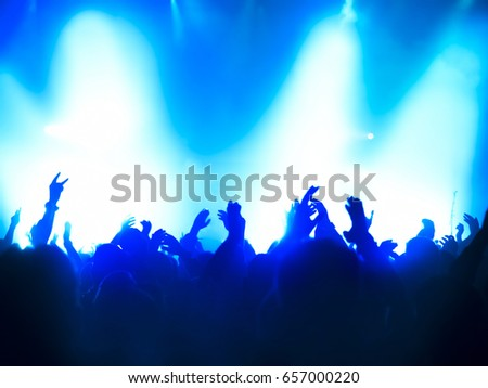 People at the concert #657000220