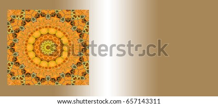 business card templates with different patterns on Golden metal. Background image. Decorative texture. #657143311