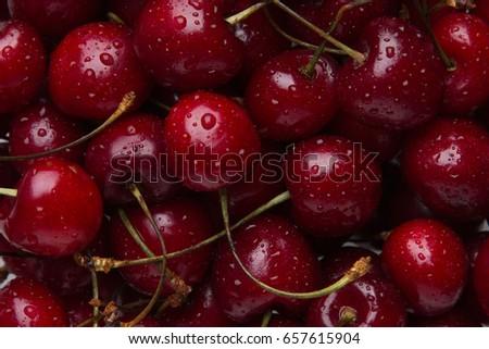 Fresh cherries #657615904