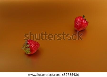 Pop Art Red Berries #657735436