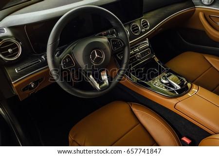 Russia, Chelyabinsk - June 7 , 2017: the car Mercedes Benz  #657741847