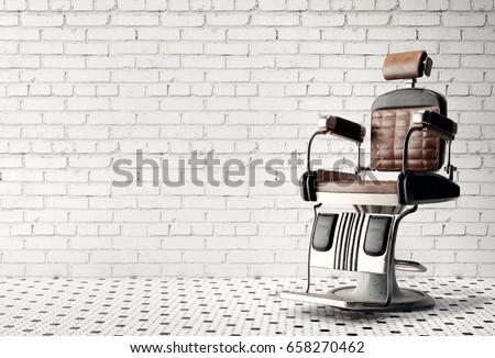Barber shop chair #658270462