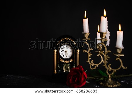 Beauty and the Beast Set Royalty-Free Stock Photo #658286683
