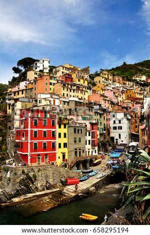 Wonderful Italian Riomaggiore, Cinque Terre #658295194