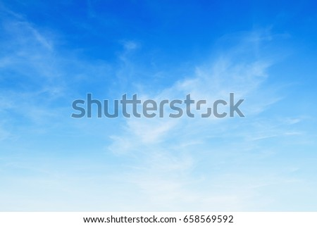 blue sky with cloud #658569592
