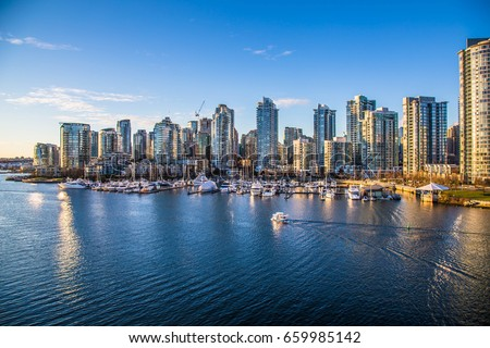 Vancouver City - Downtown - Canada #659985142