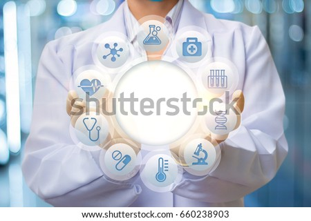 Doctor is the structure of the test patient concept design. #660238903
