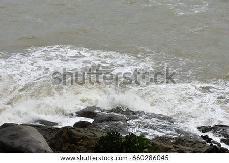 Stormy sea #660286045