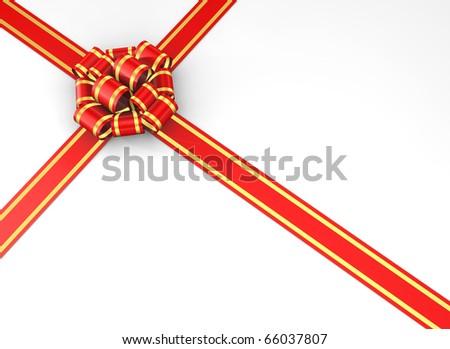 Gift box - 3d render #66037807