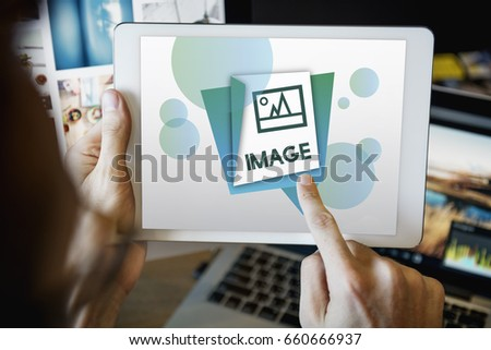 Illustration of Image Gallery Photo Memory