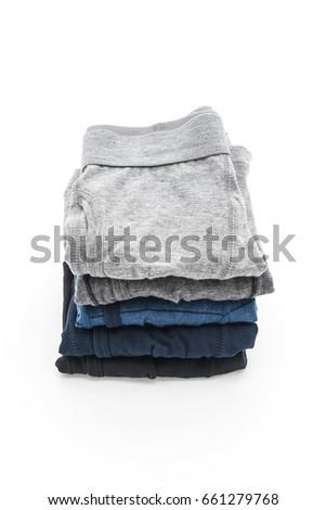 men underwear isolated on white background #661279768