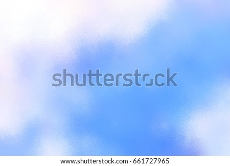 graphic illustration sky scrape - air brush spray paint graphic texture with gradient blue sky color background #661727965