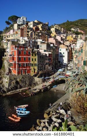 Riomaggiore (Cinque Terre - Italy) #661880401