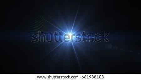 Flash light & Flare theme , Realistic lens flares , light leaks, overlays. Royalty-Free Stock Photo #661938103