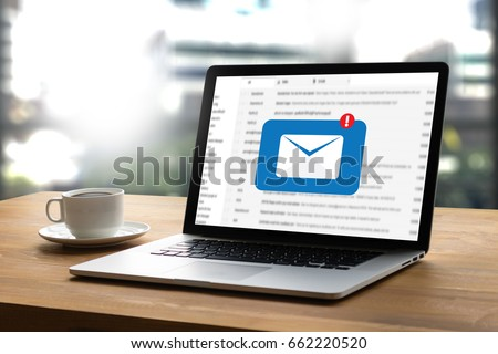 Mail Communication Connection message to mailing contacts phone Global Letters Concept #662220520