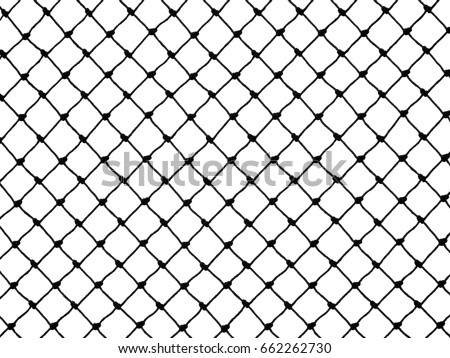 Silhouette net pattern black and white #662262730