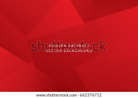 Red bright and luxury dynamic modern abstract background Royalty-Free Stock Photo #662376712