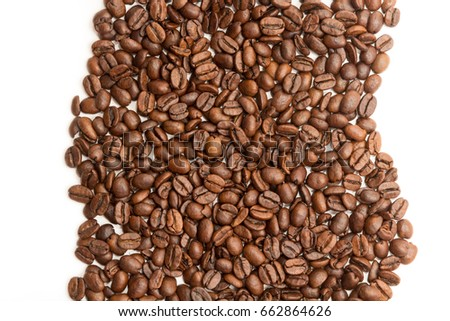 coffee beans background #662864626
