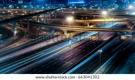 Highway and flyovers #663041302