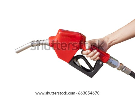 Head for the fuel pump with clipping path #663054670