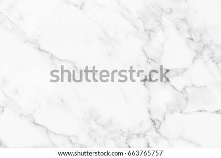 White marble texture with natural pattern for background. #663765757