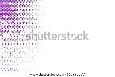 Dark Purple vector modern geometrical abstract background. Texture, brand-new background. Geometric background in Origami style with gradient.