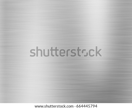 metal, stainless steel texture background with reflection #664445794