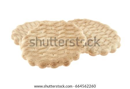 Cracker isolated on white background #664562260