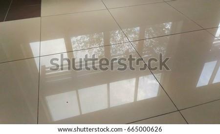 Windows reflection on the floor. #665000626