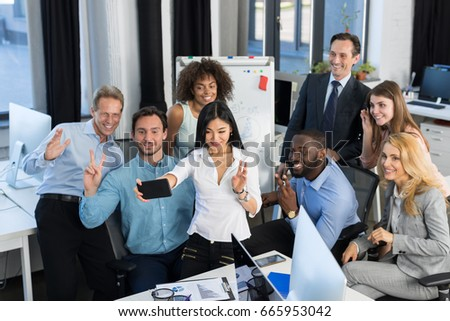 Businessmen Group Working Together In Creative Office, Team Brainstorming, Business People Discussing New Ideas In Boardroom, Colleagues Teamwork Concept, Mix Race Businesspeople Planning New Project