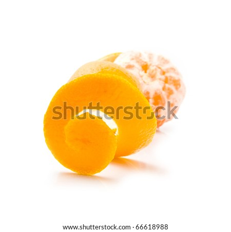 mandarine on a white background #66618988