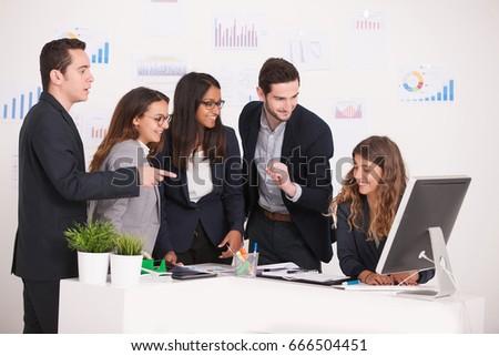 business team #666504451