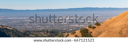 View of Downtown San Jose, Silicon Valley