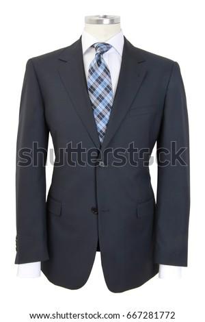 Men dummy in suit #667281772